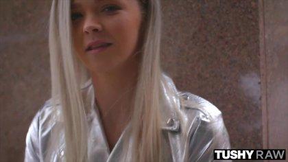 Пикапер развел красивую блондинку на анальный секс #2