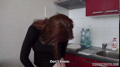 Рыжая мамка согласилась на трах с пикапером из Чехии #10