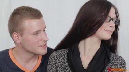 Блондин после пар поехал к подруге домой, чтобы заняться красивым сексом #2