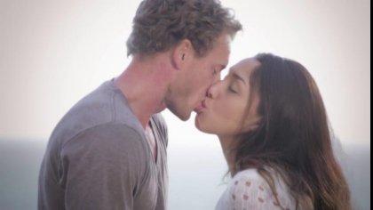 Влюбленная пара устроила красивый секс в разных позах на свежем воздухе #2